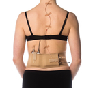 Beige waist belt, large
