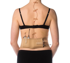 Beige waist belt, XL