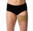 Beige thigh belt